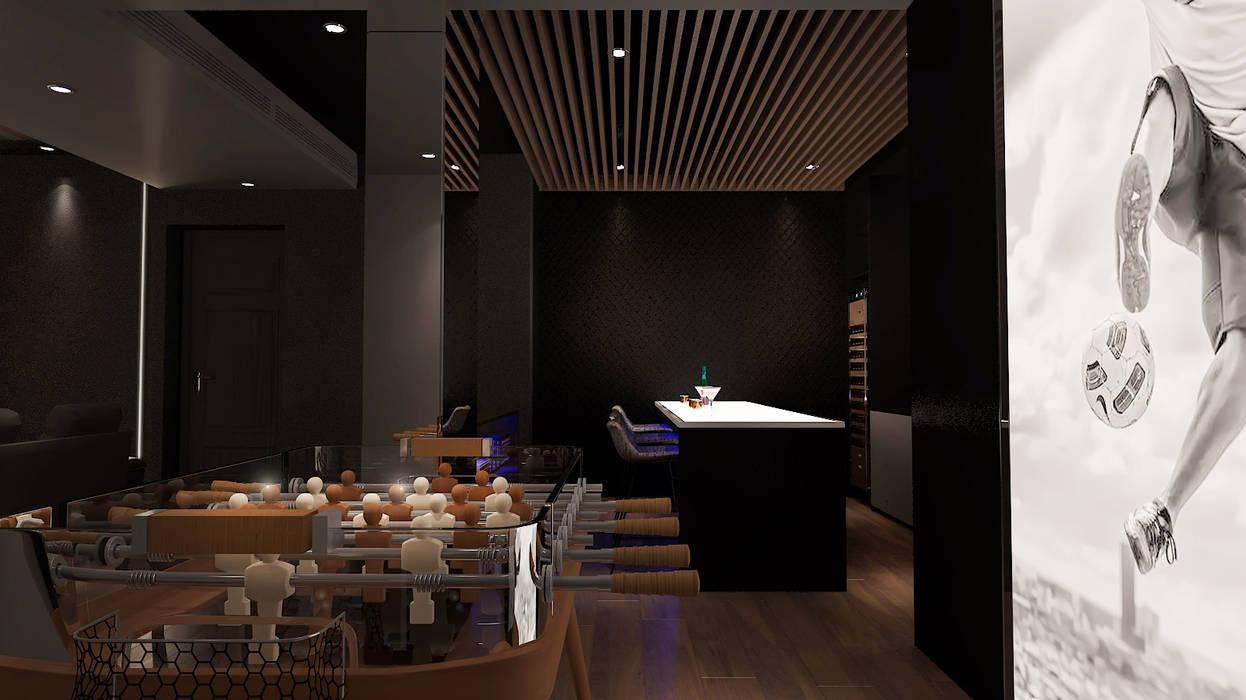 home cinema design,  home design Malaysia:  Media room by Norm designhaus, Modern