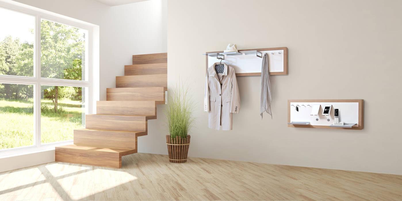 Garderobe Und Wandboard Von Kubeno Gmbh Skandinavisch Holz