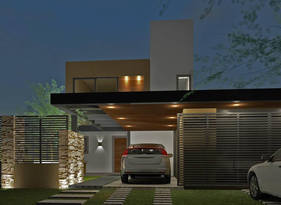 Remodelación fachada : Casas unifamiliares de estilo  por BM3 Arquitectos