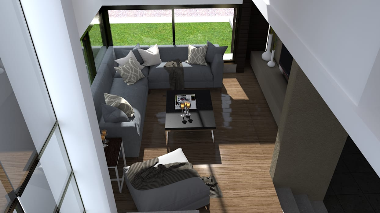 Estar: Livings de estilo  por BM3 Arquitectos