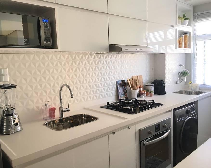 Cozinha por Artha Arquitetura Minimalista Vidro