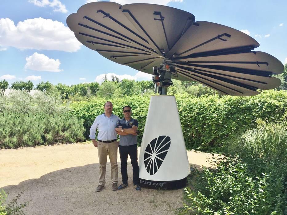 "Smartflower - O primeiro sistema de energia solar ""all in one"" do Mundo Magnific Home Lda"