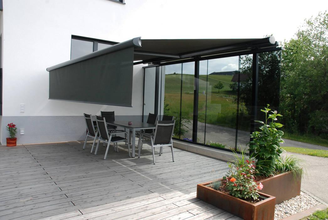 Terassen windschutz markise: terrasse von schmidinger ...