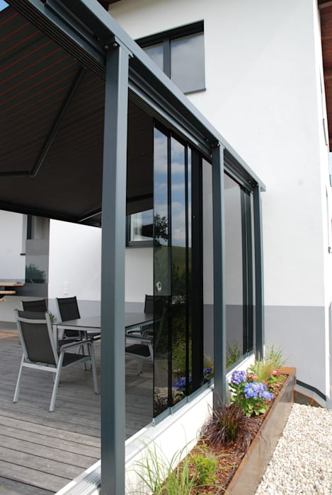 Terrassen Windschutz Terrasse Von Schmidinger Wintergarten Fenster