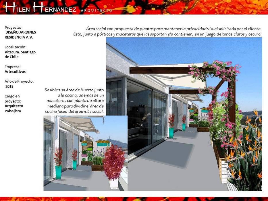 Balcones Y Terrazas Modernos De Hz Arquitectos Santiago