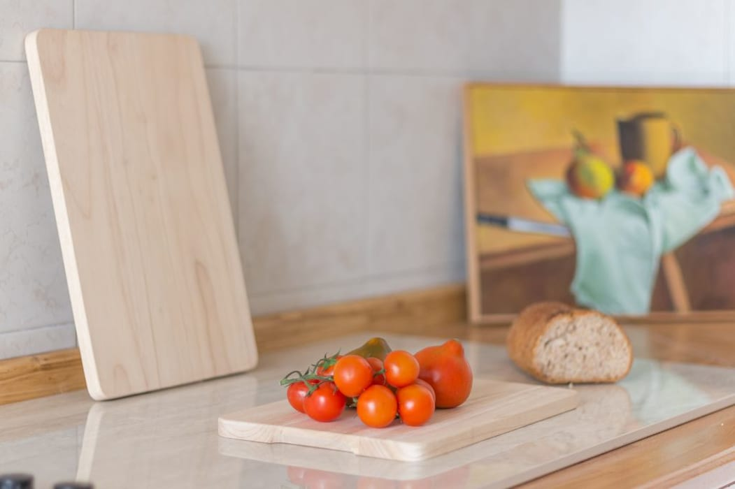 Villetta Mimosa: Cucinino in stile  di Anna Leone Architetto Home Stager