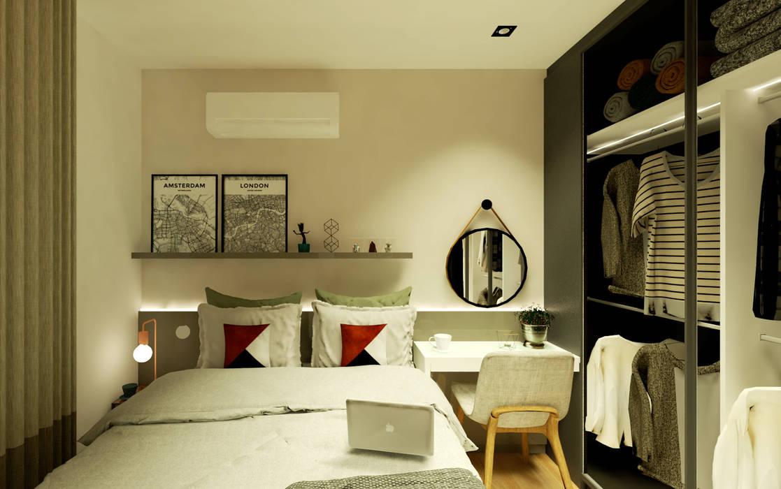 Moderne Schlafzimmer von Arquiteca Projetos Modern