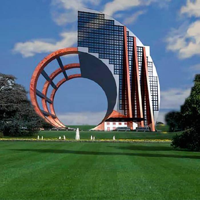 Edificio per ufficio: Complessi per uffici in stile  di CreazioniSV