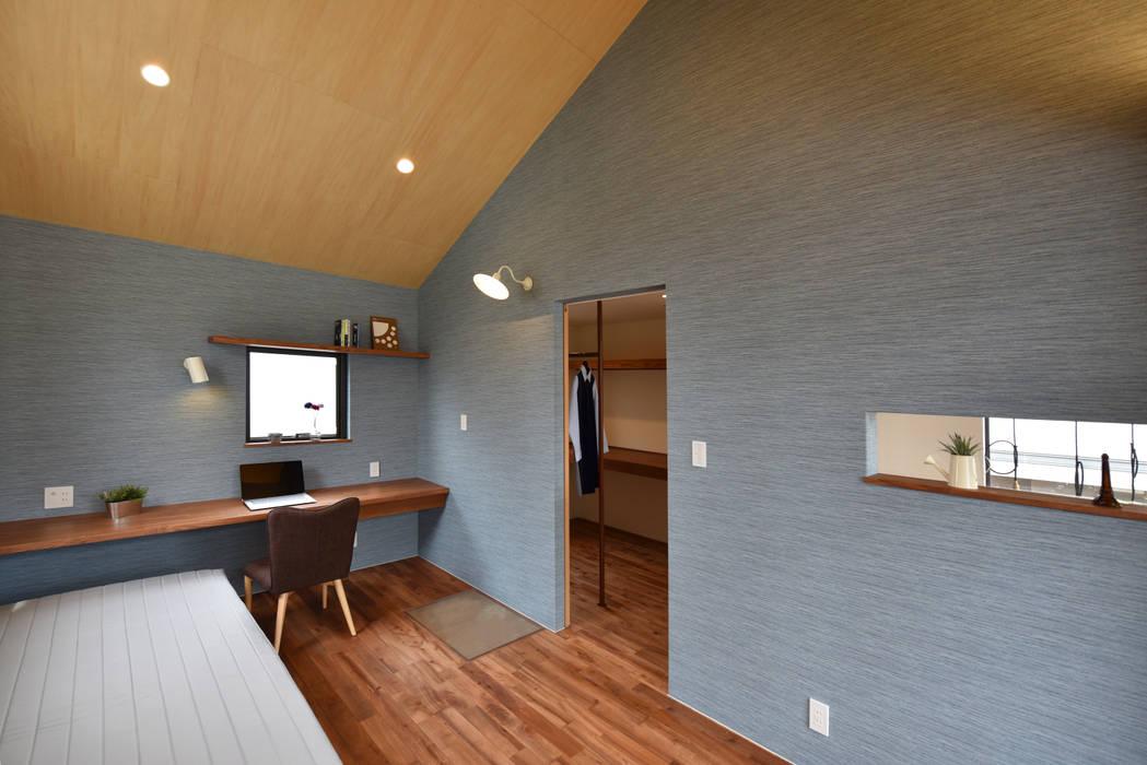 A&A: BDA.T / ボーダレスドローが手掛けた寝室です。