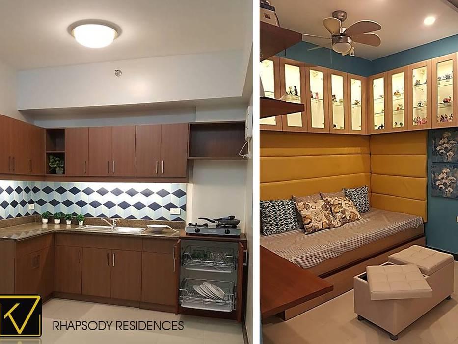 Salas de estilo moderno de Kat Interior and Design Moderno
