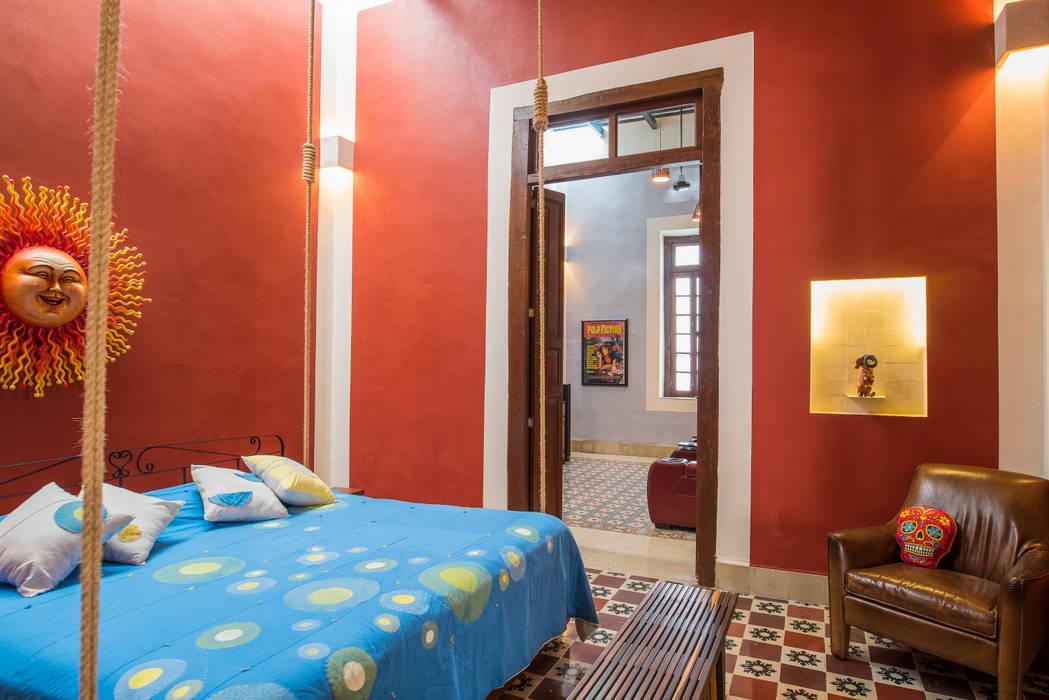 Dormitorios de estilo colonial de Taller Estilo Arquitectura Colonial