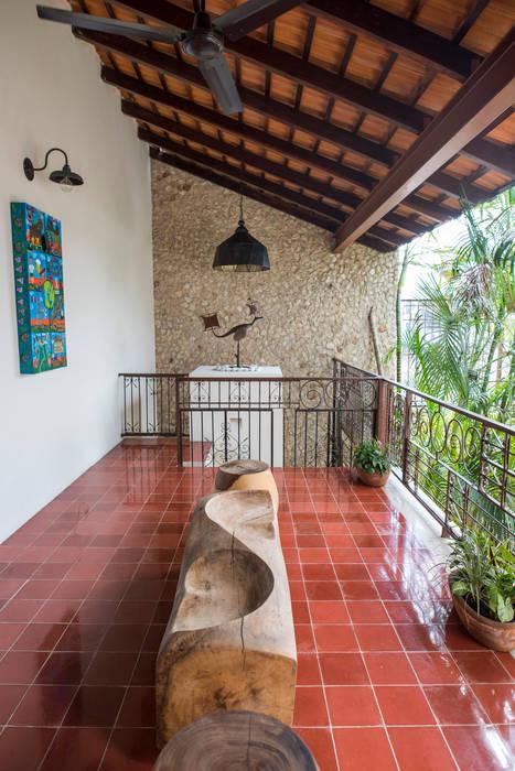 Casa Tres Dragones Balcones Y Terrazas Coloniales De Taller
