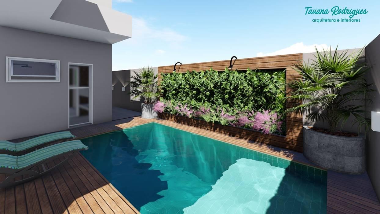 Jardim Vertical por Tauana Rodrigues - Arquitetura e Interiores Moderno