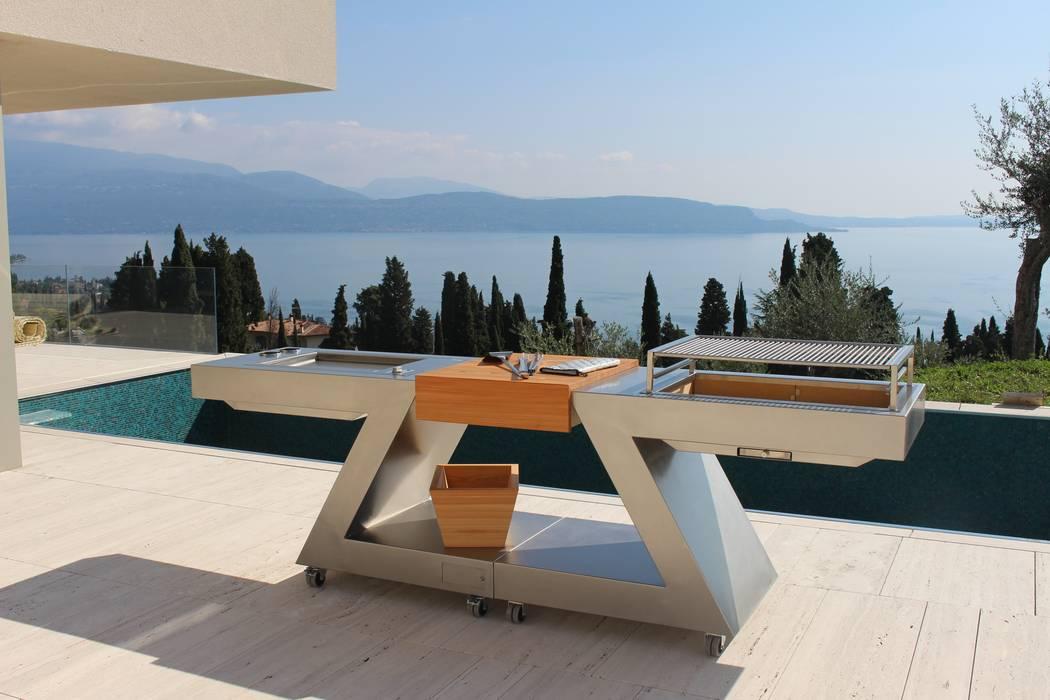 Garden  by ZED EXPERIENCE - indoor & outdoor kitchen