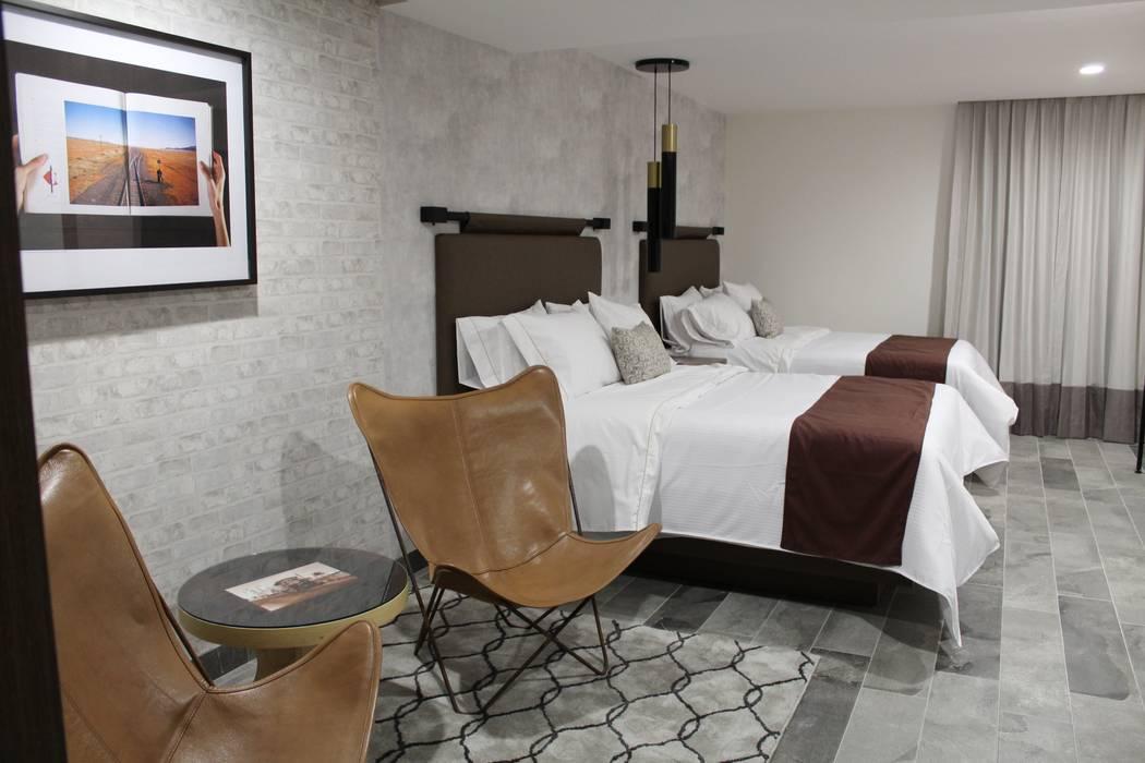 MONTAUDON INTERIORISMO Hôtels modernes
