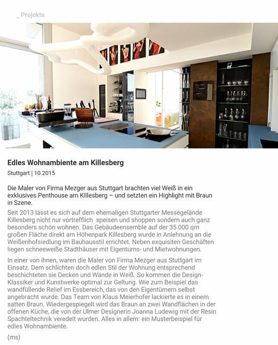 Modern Walls and Floors by luanna design Modern