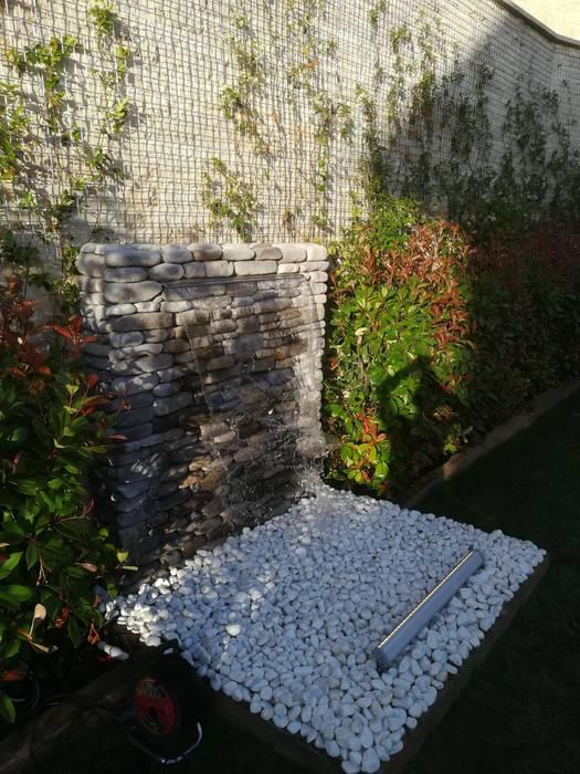 Damla Şelale – Modern Bahçe Şelaleleri:  tarz Zen bahçesi,