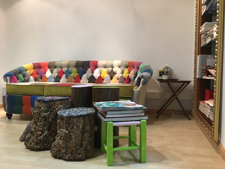 Atelier de decoração: Escritório e loja  por Inês Florindo Lopes