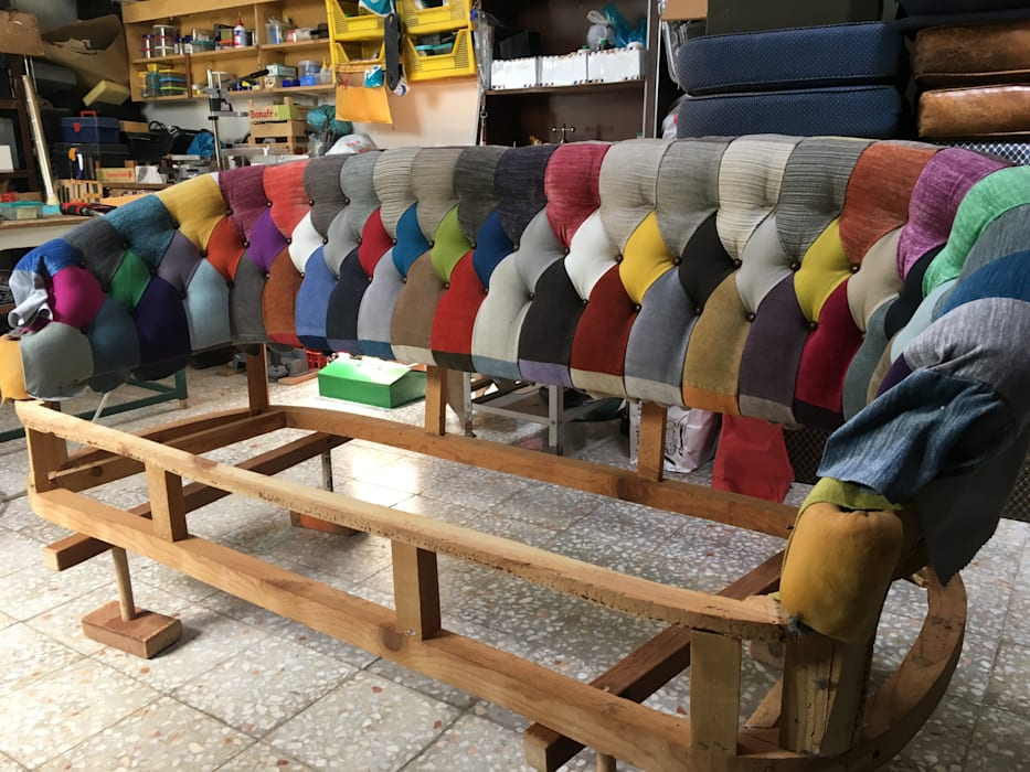Encosto de sofá:   por Inês Florindo Lopes