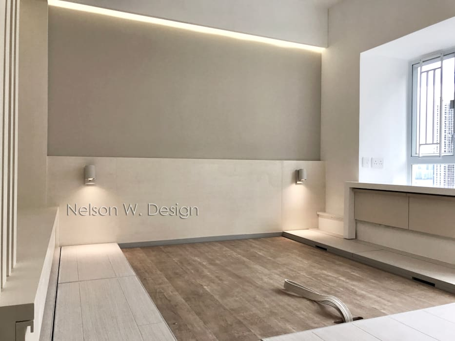 Illumination Terrace | Tai Hang Road | Hong Kong Modern style bedroom by Nelson W Design Modern