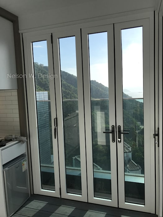 Rooftop Terrace | Kennedy Town | Hong Kong by Nelson W Design Modern