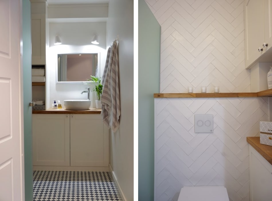 Badezimmer in weiß skandinavisch skandinavische badezimmer ...