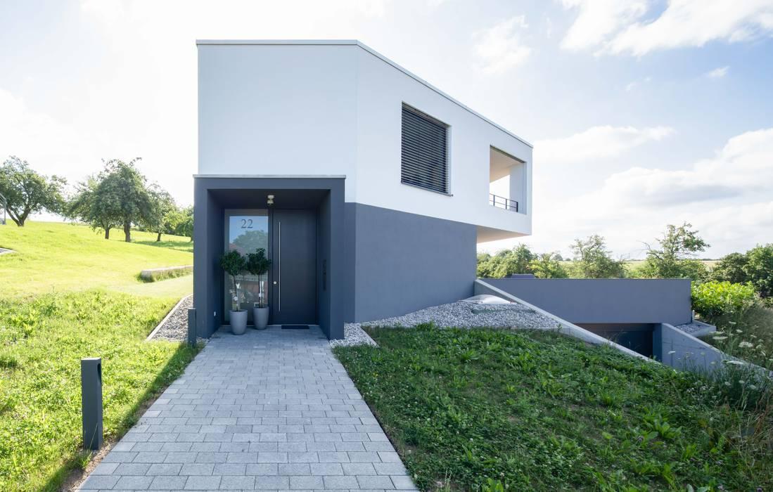 Aussenansicht Moderne Hauser Von Schiller Architektur Bda