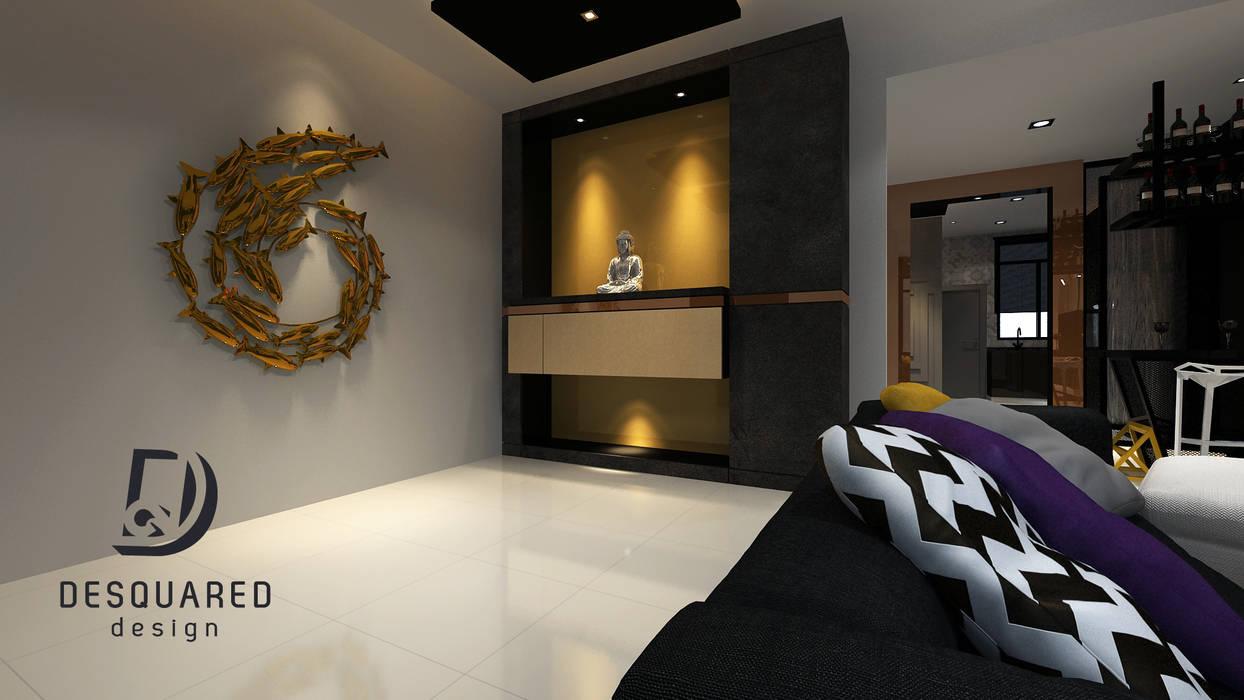 Altar:  Corridor & hallway by Desquared Design, Modern