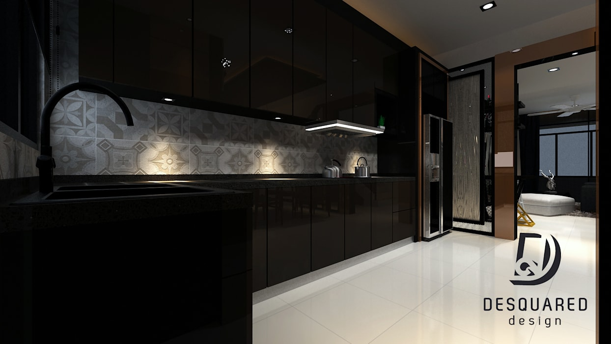 Kitchen:  Kitchen by Desquared Design