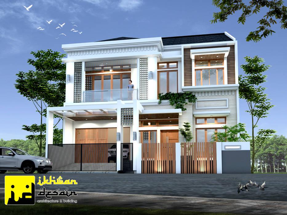 Rumah Modern Classic: Rumah tinggal  oleh Ikhwan desain, Klasik Beton Bertulang