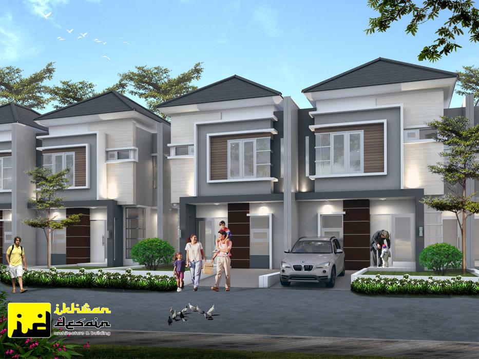 Rumah type 69: Rumah tinggal  oleh Ikhwan desain,