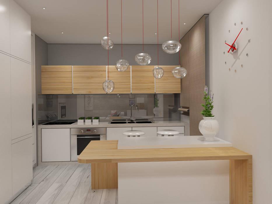 Cocinas de estilo  por Angelourenzzo - Interior Design, Escandinavo