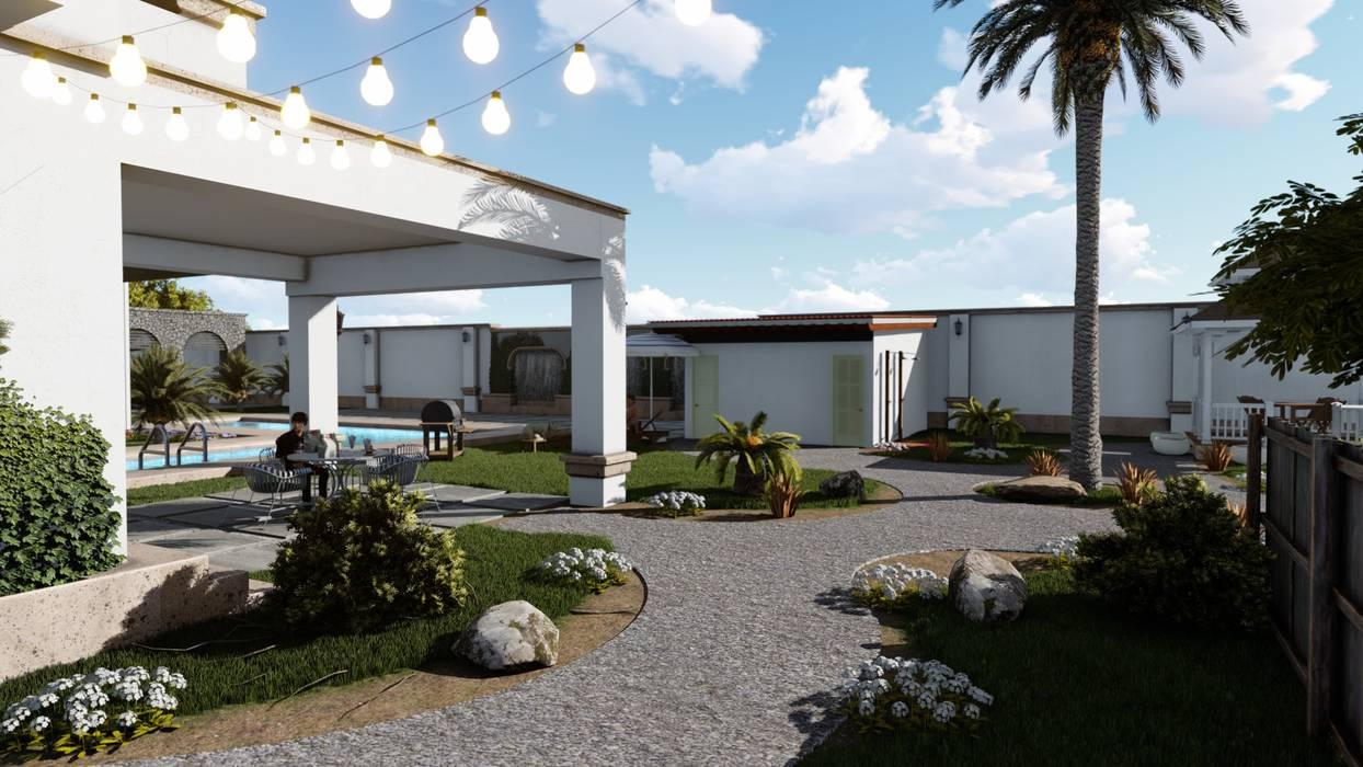 Corredor Y Patio Casas De Estilo Por Build Arquitectura Homify