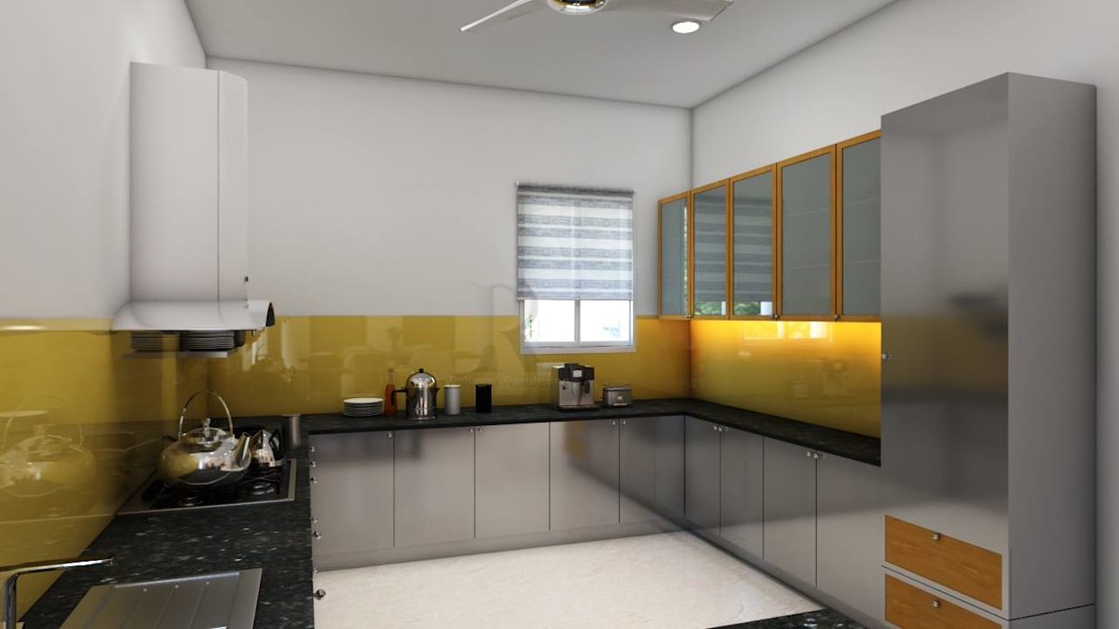 community center interior designers in hyderabad:   by VSB Interiors,