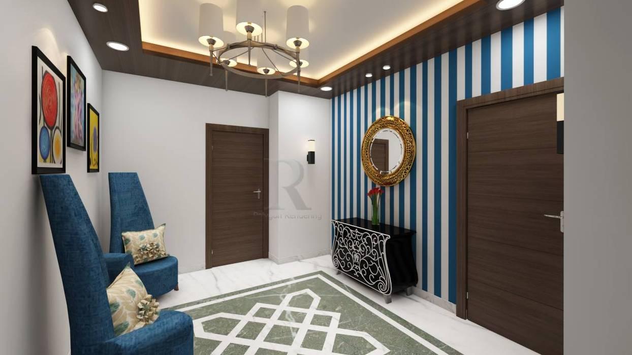 community center interior designers in hyderabad:   by VSB Interiors,