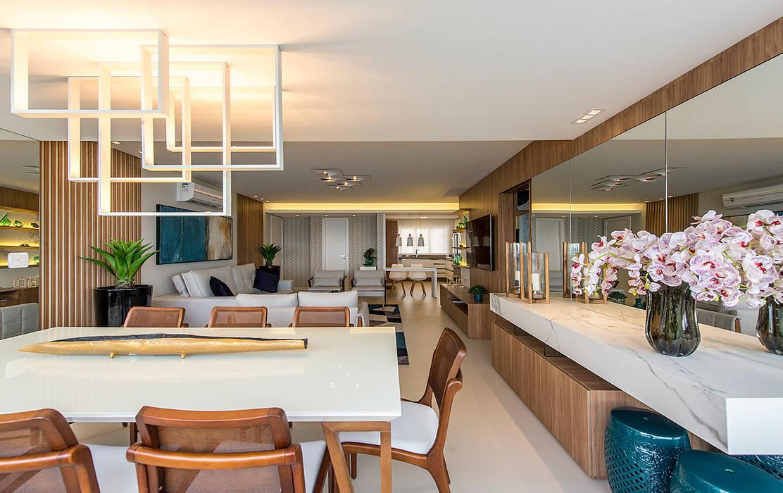 Living room by Espaço do Traço arquitetura,