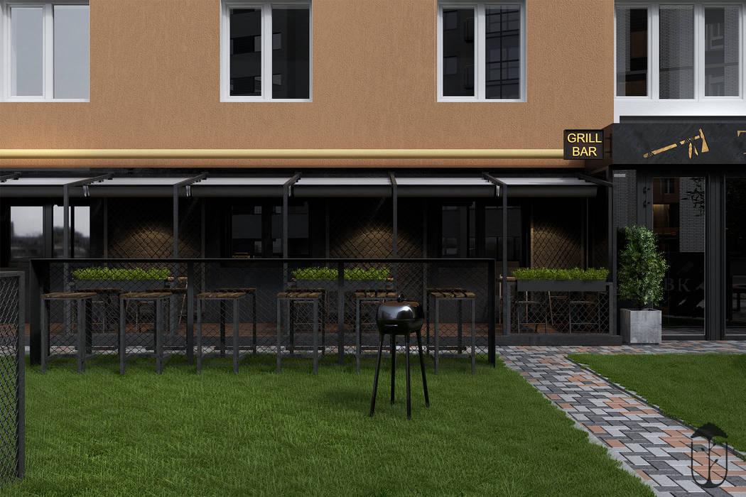 Balcones y terrazas de estilo industrial de U-Style design studio Industrial