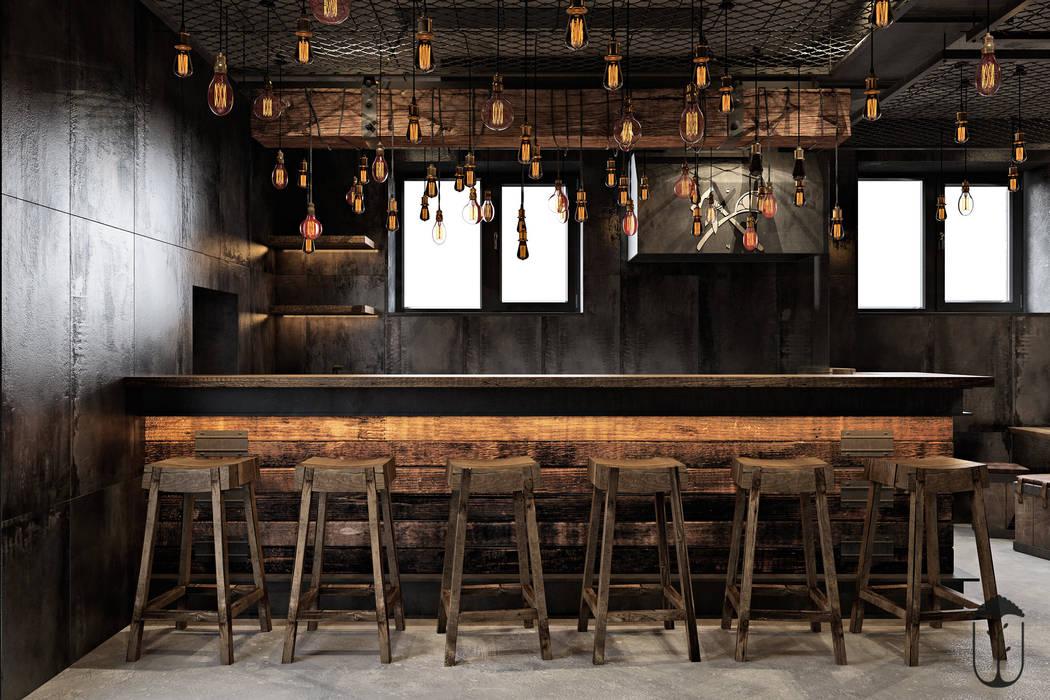 Cocinas de estilo industrial de U-Style design studio Industrial