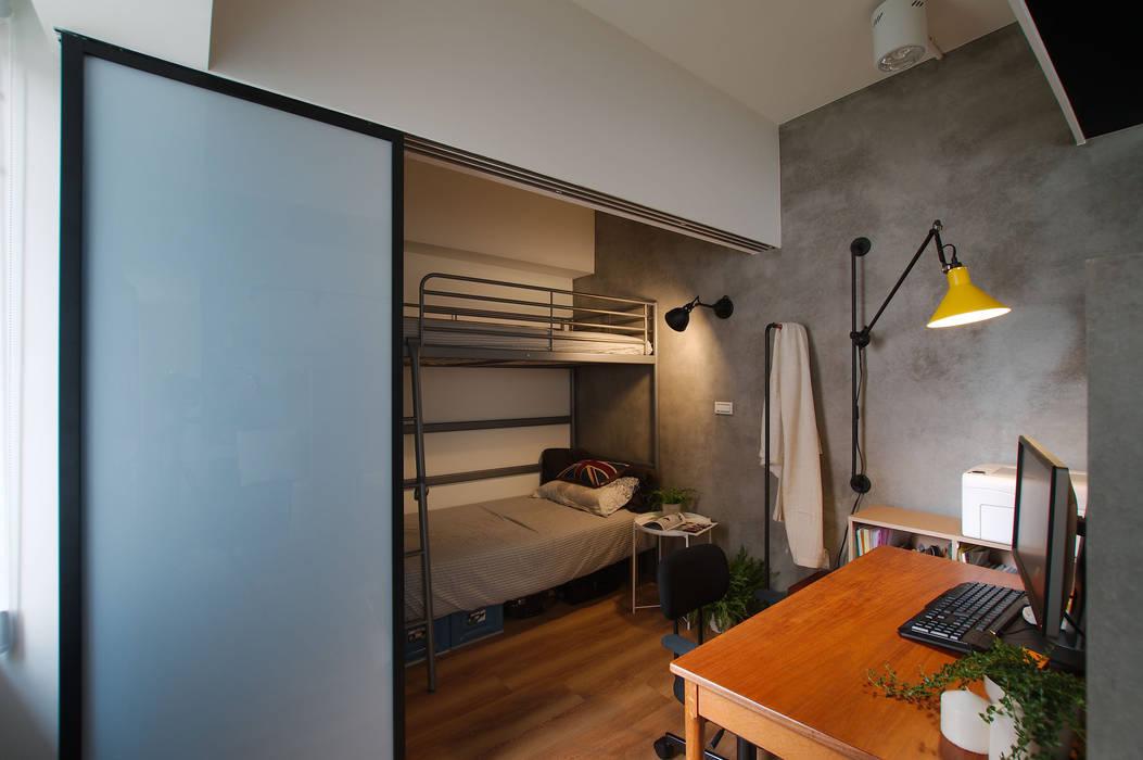 Dormitorios de estilo industrial de 御見設計企業有限公司 Industrial