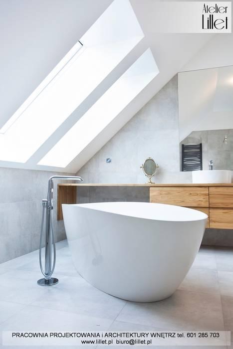 Pracownia projektowa Atelier Lillet Modern bathroom