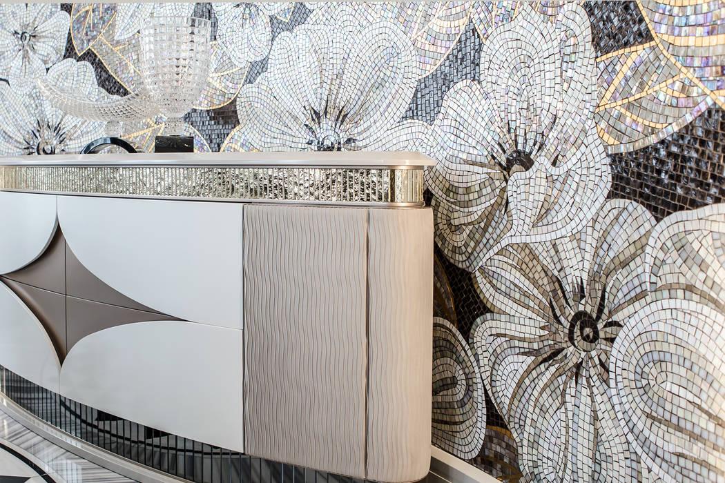 Exclusive furniture designed by NG-STUDIO.: Sala da pranzo in stile in stile Classico di NG-STUDIO Interior Design