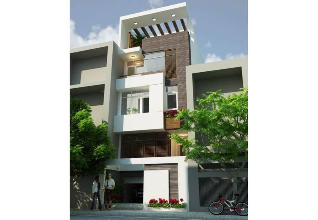 Maisons de style  par Công ty Thiết Kế Xây Dựng Song Phát,