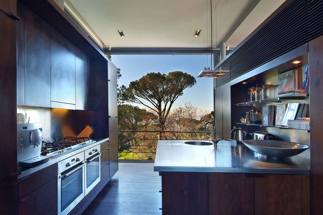 View of Kitchen by Van der Merwe Miszewski Architects Modern Wood Wood effect