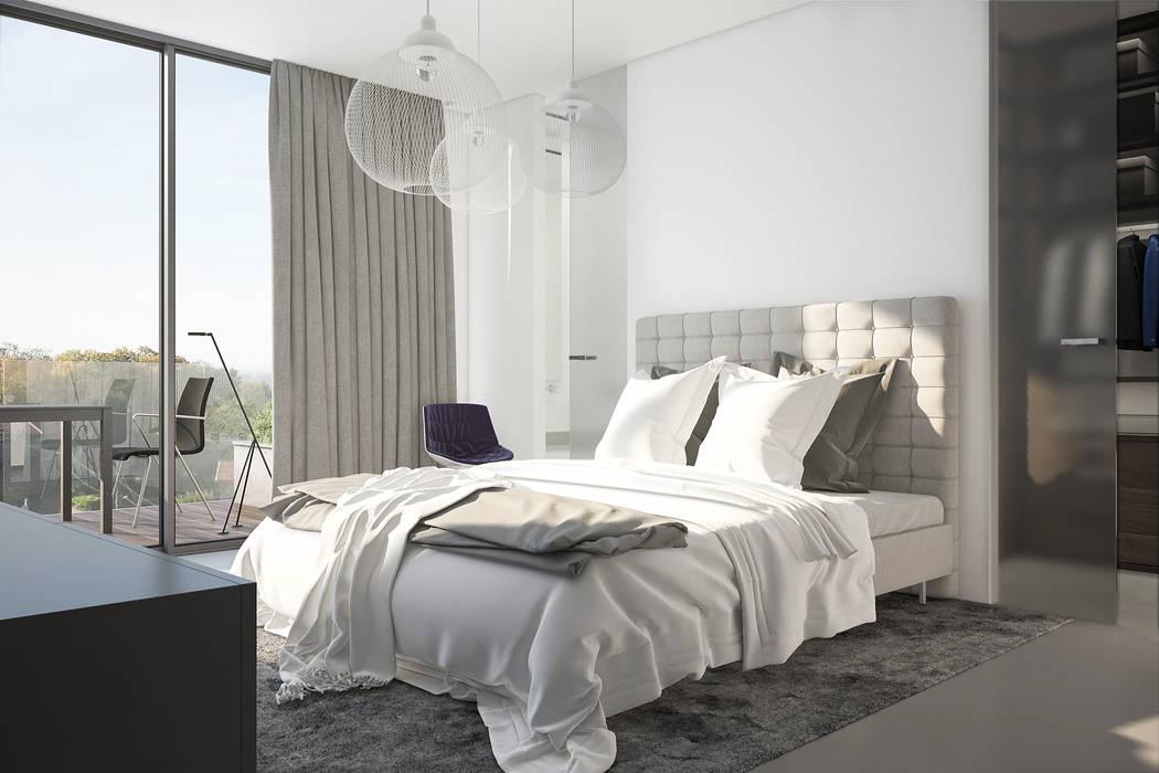 Chambre design: Chambre de style de style Moderne par réHome
