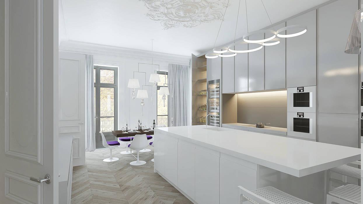 Cuisine - Salle à manger : Salle à manger de style de style Moderne par réHome