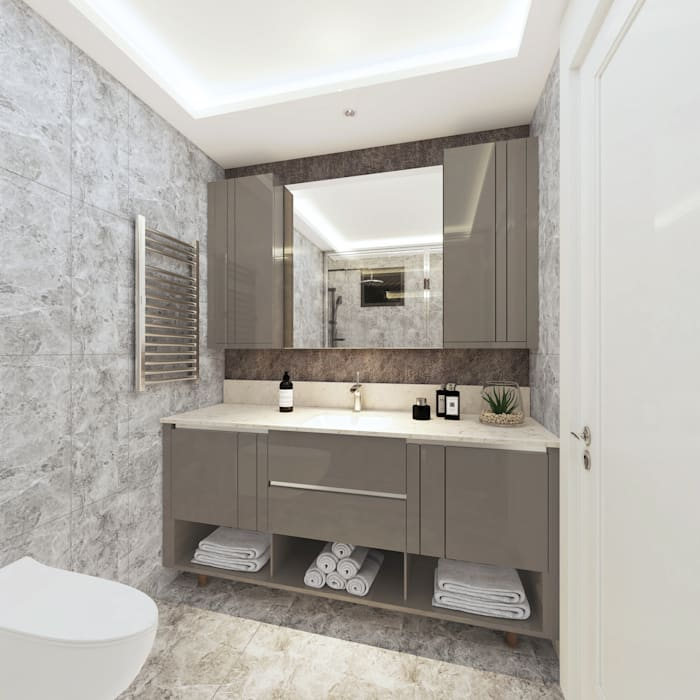 Duygu Solaker  – Ebeveyn Banyosu:  tarz Banyo