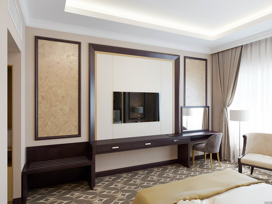 Bedroom 根據 DMR DESIGN AND BUILD SDN. BHD.