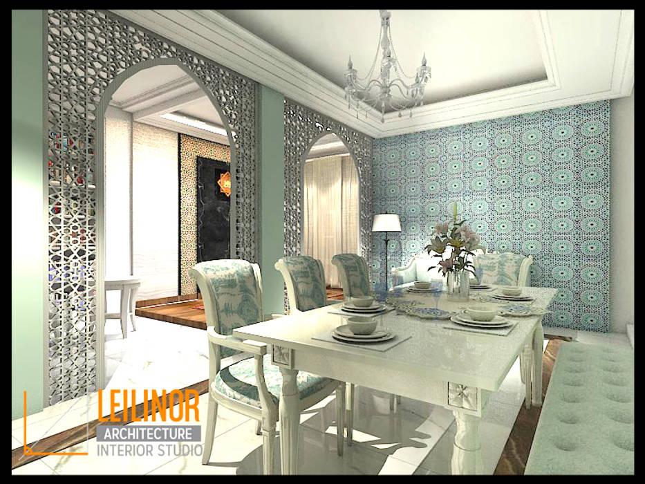 Classic Residential: Ruang Makan oleh CV Leilinor Architect, Klasik
