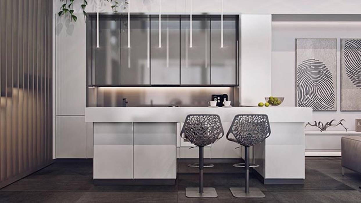 Tủ bếp by Công ty thiết kế xây dựng Song Phát