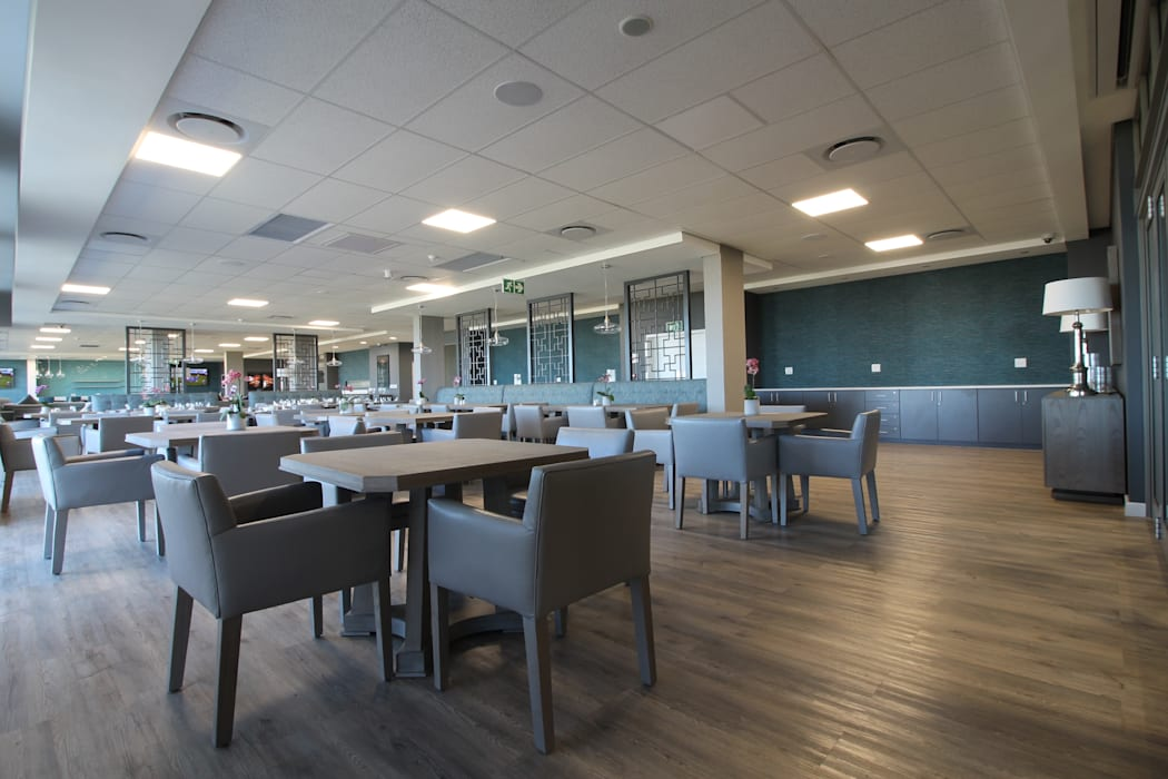 Dining Area:  Commercial Spaces by Audio Visual Projects (PTY) Ltd, Modern